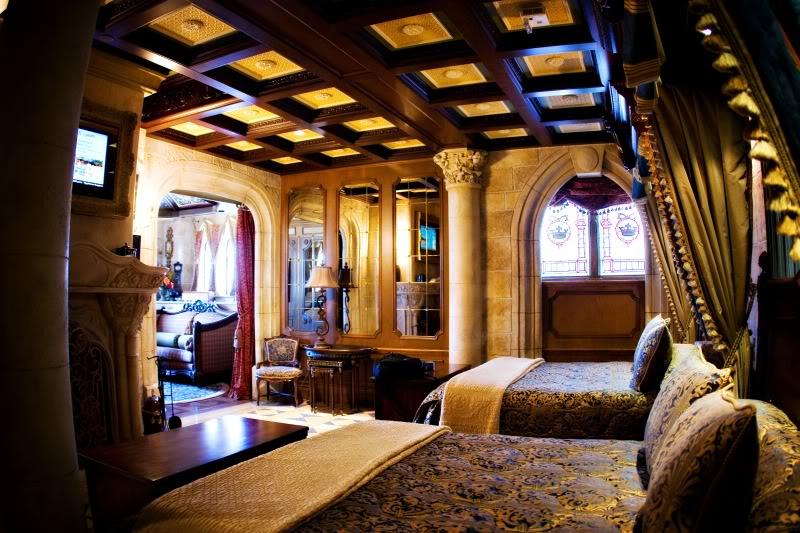 Cinderella Castle Suite Tour