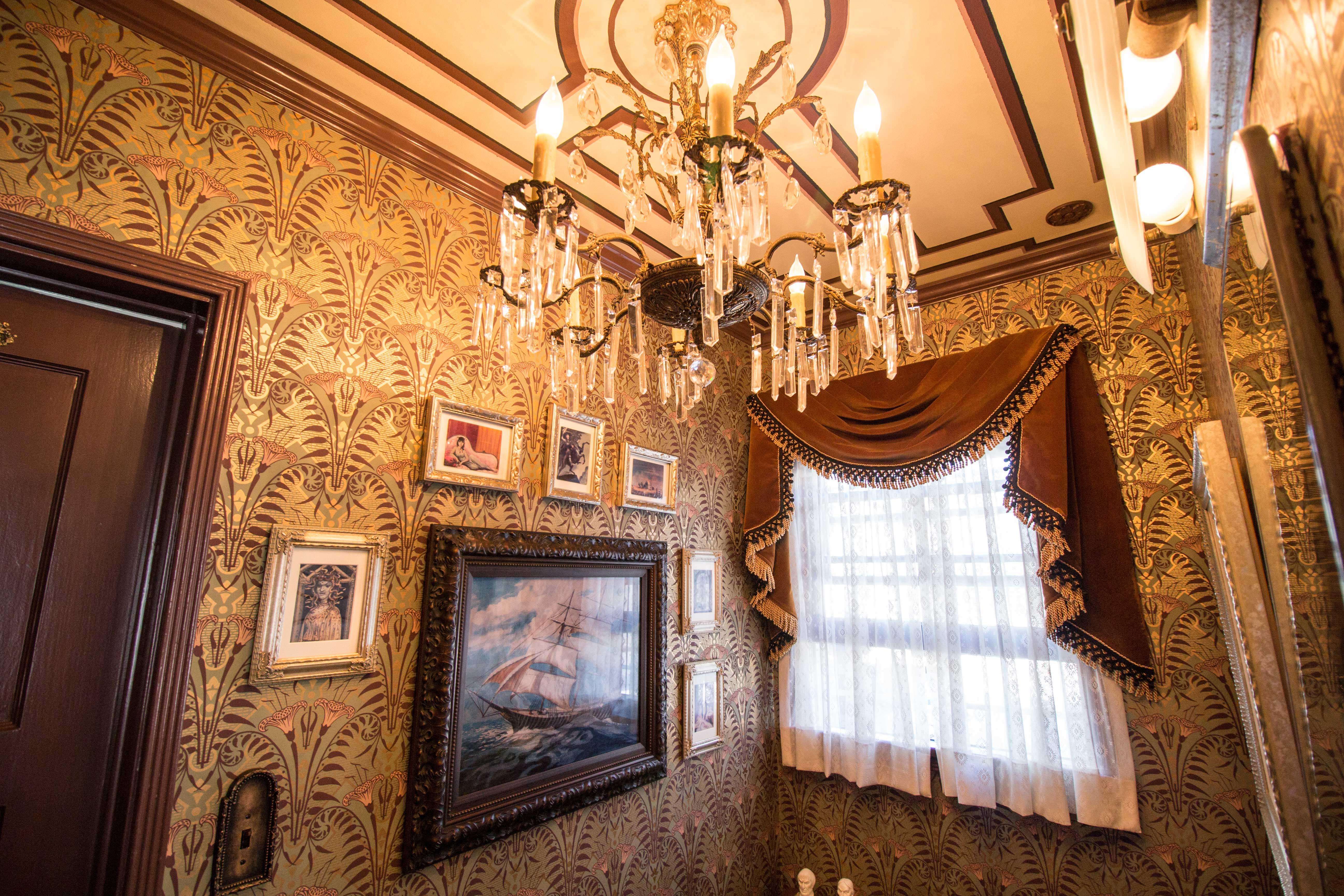 Our Haunted Mansion Bathroom Makeover Disney Travel Babble