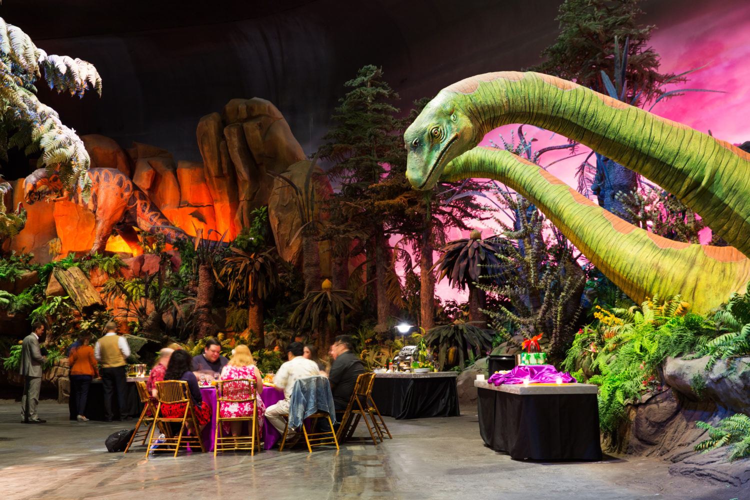 Our Crazy '80s Epcot Dinner Party - Disney Travel Babble