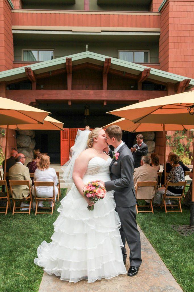 Disneyland Escape Wedding Spotlight Claire Jon