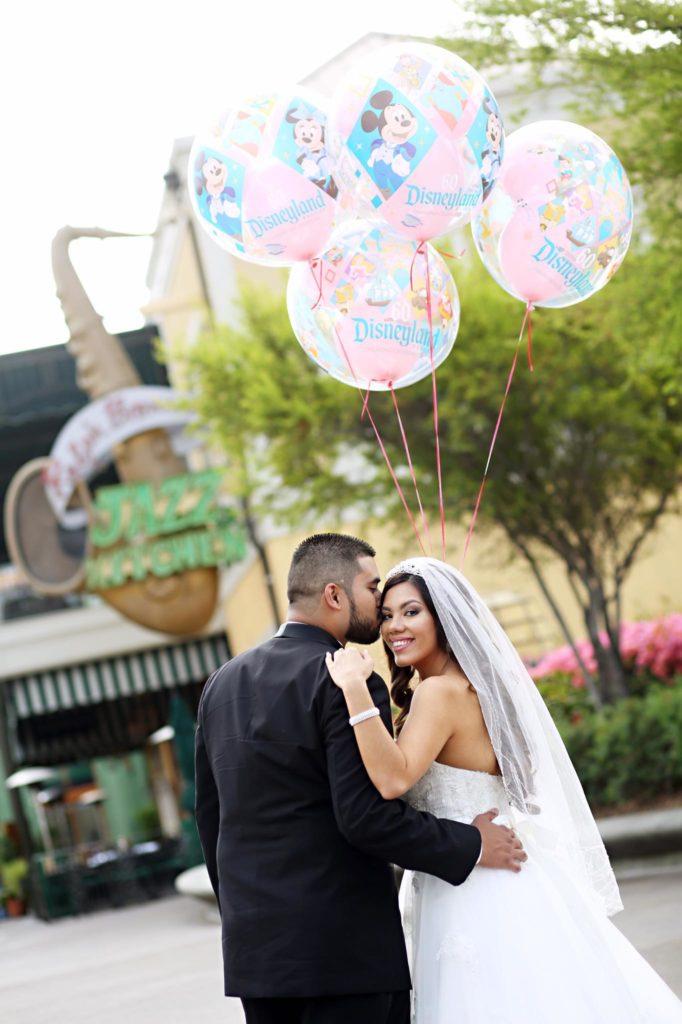 Disneyland Escape Wedding Spotlight Dezarae Kaohu